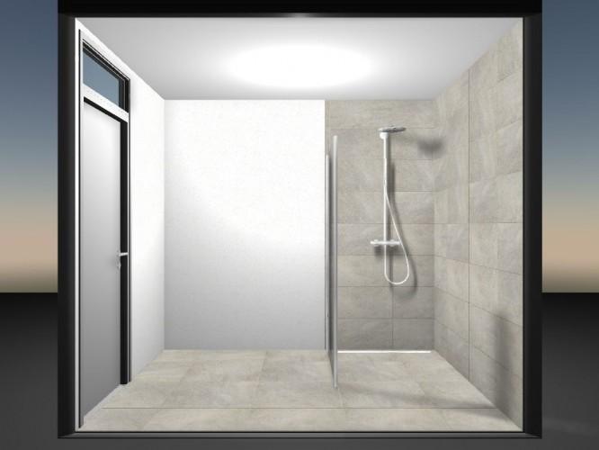 Ontwerp badkamer Vondel