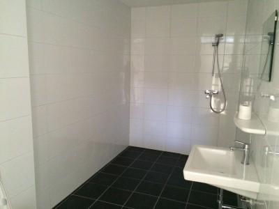 Voor de badkamer verbouwing in Vianen